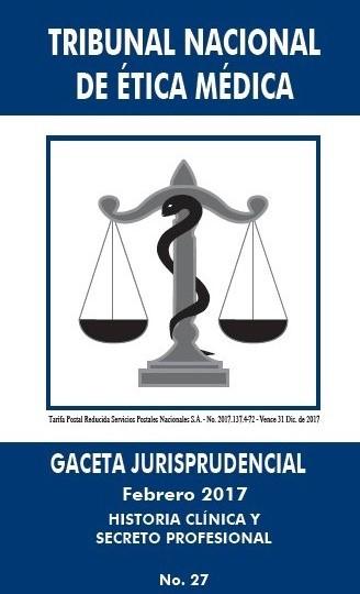 HISTORIA CLÍNICA Y SECRETO PROFESIONAL